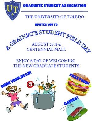 Graduate student field day