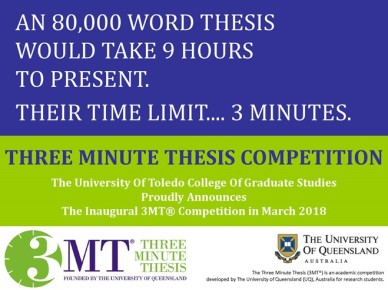 3Minute Thesis 2018